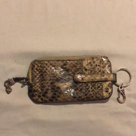 BRIGHTON Snake Skin Wallet
